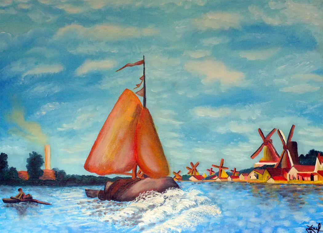 Barca pe apa