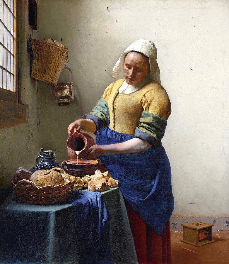 the-milkmaid-jan-vermeer